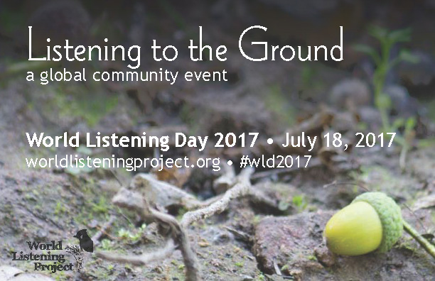 WLD2017 Listening to the Ground